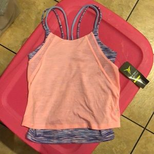 Old Navy Active Overlay Spandex Tank